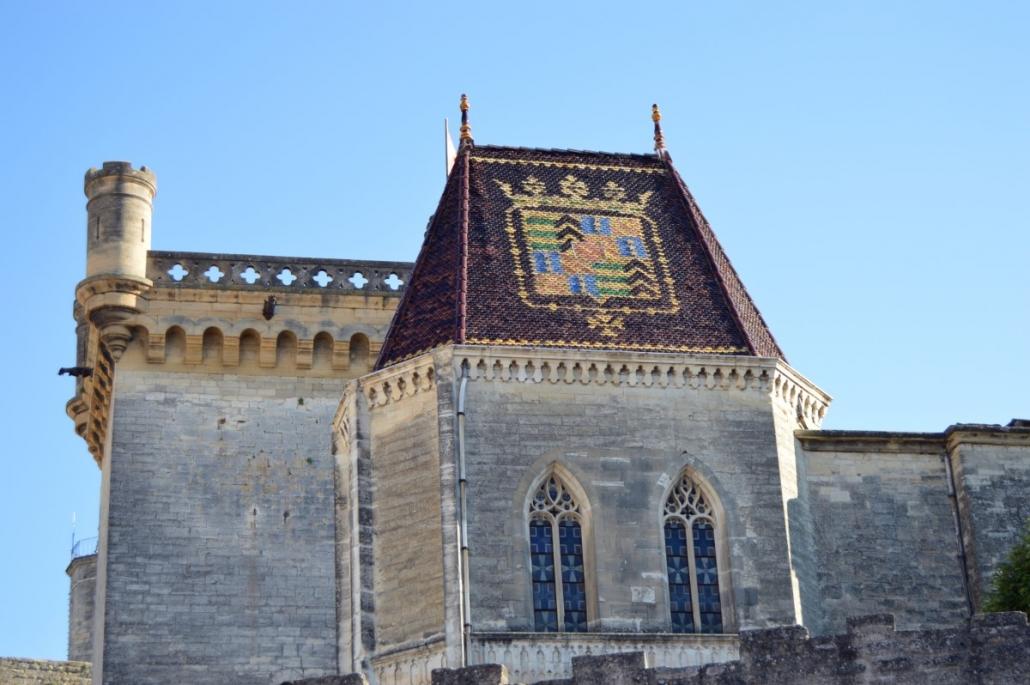 Chateau du Duché in het centrrum van Uzès