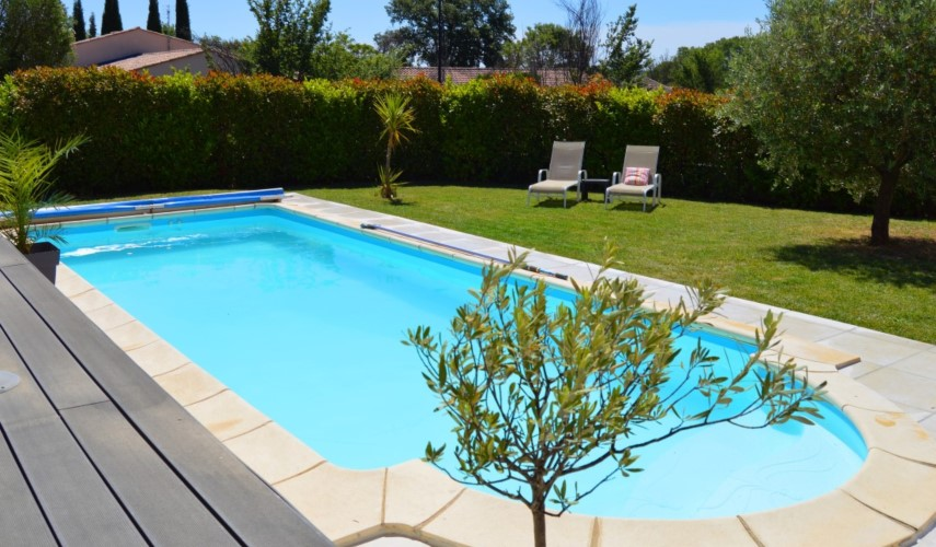 Tuin en zwembad - Le Fil Rouge